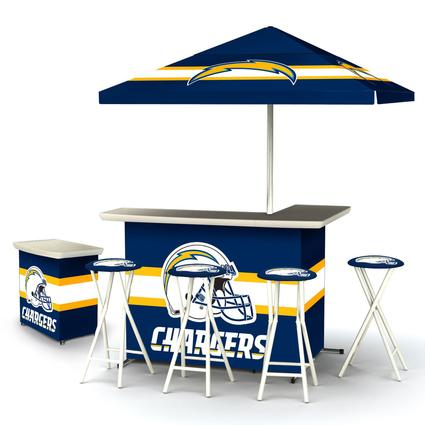 Deluxe NFL Bar - San Diego Chargers