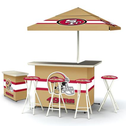 Deluxe NFL Bar - San Francisco 49ers