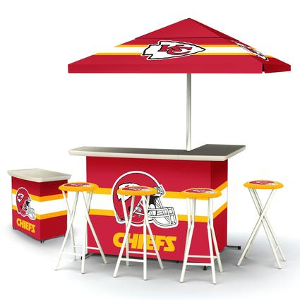 Deluxe NFL Bar - Kansas City Chiefs