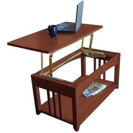 Swing-Up Coffee Table - Walnut