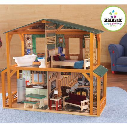 Campfire Cabin Dollhouse