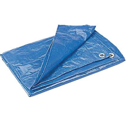 6' X 8' Blue Poly Tarp