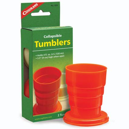 Collapsible Tumblers, Set of 2