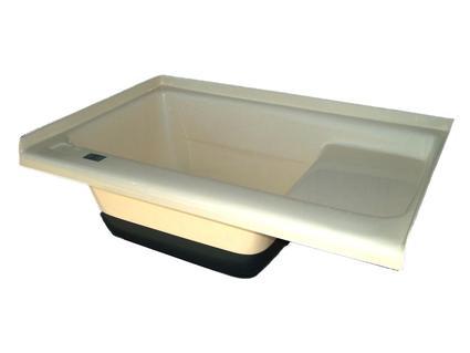 Sit in Step Tub Left Hand Drain TU500LH - Colonial White
