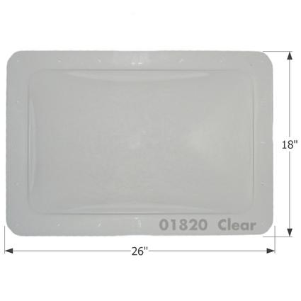 RV Skylight - SL1422C - Clear