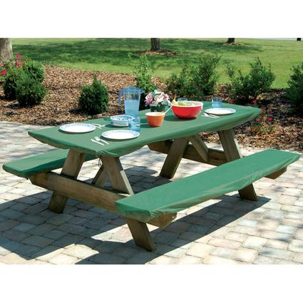Bungee Picnic Table & Bench Cover Set