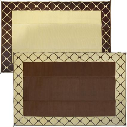 Mat 9 X 12 Diamond - Brown