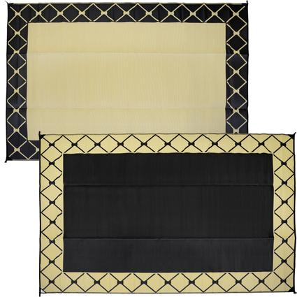 Mat 9 X 12 Diamond - Black