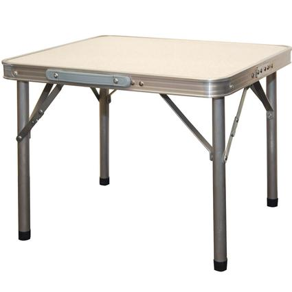 Adjustable Height Aluminum Table