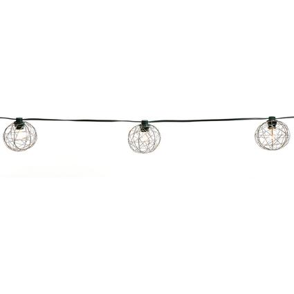 Steel Mesh Globe Lights