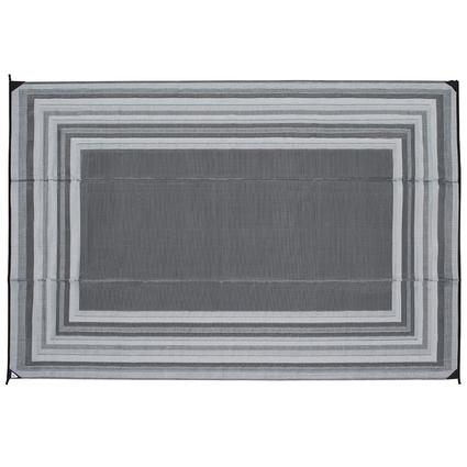 Reversible Striped Design Patio Mat, 9'x12'