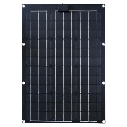 Semi-Flexible Solar Panels, 50 Watt