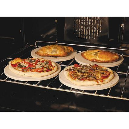 Round Pizza Stones, Set of 4