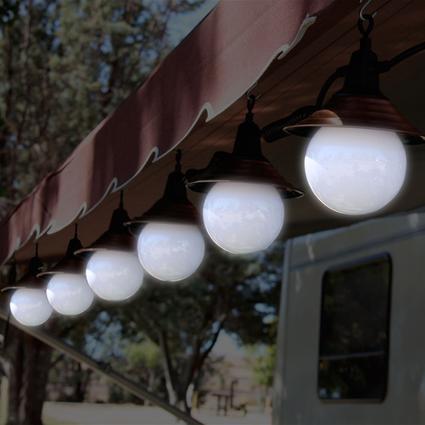 6 Globe Decorator String Light