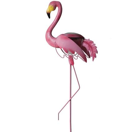 Solar Flamingo Accent Light