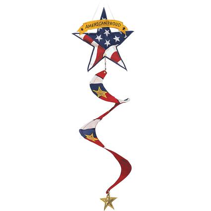 Appliqué American Proud Windspinner