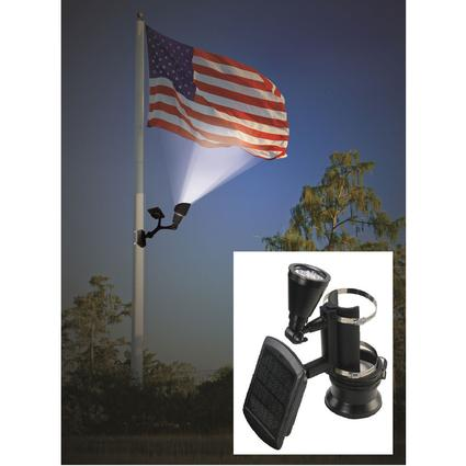 Solar Flag Light