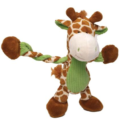 Giraffe Pulleez Dog Toy