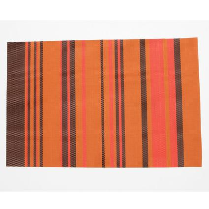 Striped Placemat - Orange