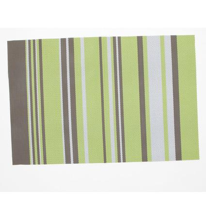 Striped Placemat - Green