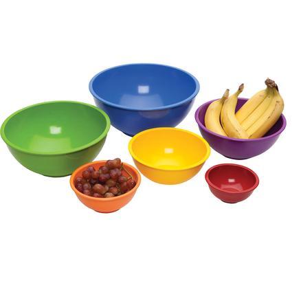 Mixing Bowls, 6 piece