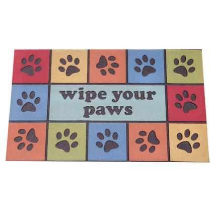 Door Mats - Colorful Paws