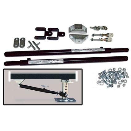 JT Strong Arm Jack Stabilizer System - 5th Wheel Kit Over 58