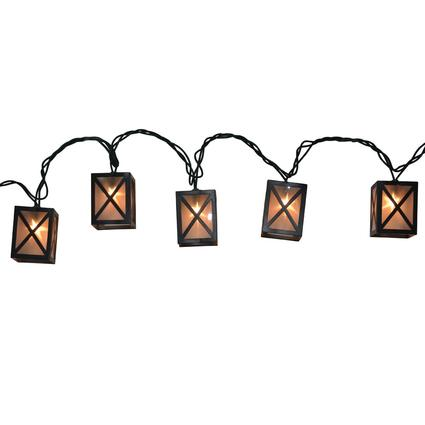Star Lantern Lights, 7.8', 10 Bulbs