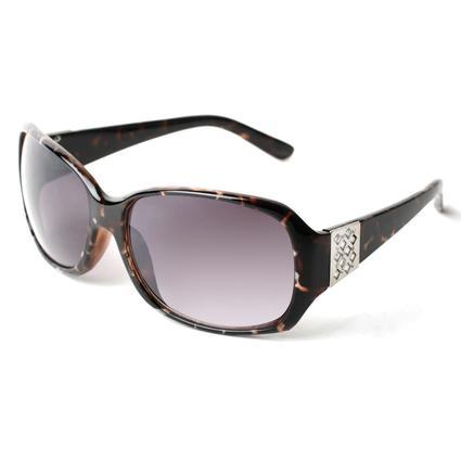 Ladies' Fashion Sunglasses - Brown/Black