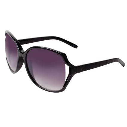 Ladies Fashion Sunglasses - Black, Square Rimmed