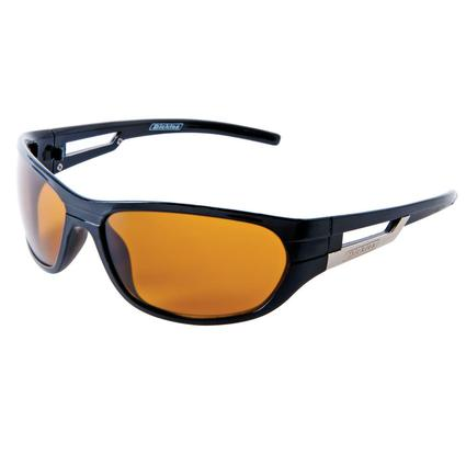 Men's Sunglasses - Black, Amber Lenses