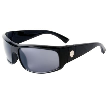 Men's Black Plastic Sunglasses