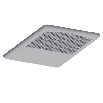 Return Air Grill with Quick Cool, Polar White