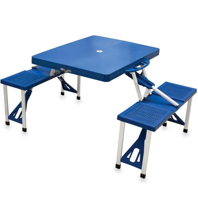 Picnic Table Royal Blue Picnic Time Picnic Supplies - Picnic table supplies