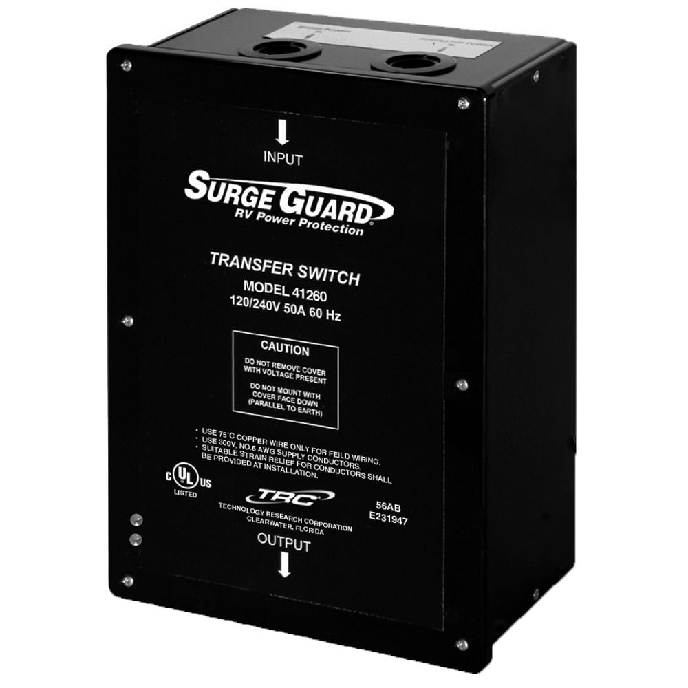Surge Guard 50A Hardwire Automatic Transfer Switch - TRC 41260-001-012 -  Generator Accessories - Camping World