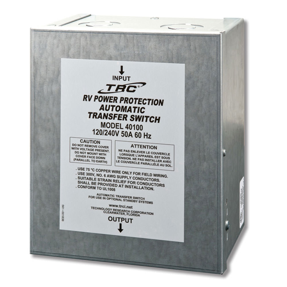 50 Amp Automatic Transfer Switch - TRC 40100 - Generator Accessories -  Camping World