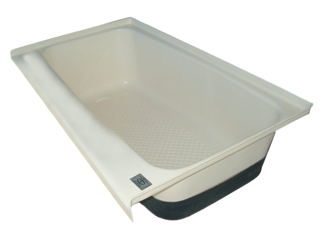 RV Bath Tub Left Hand Drain TU700LH - Polar White - Icon ...
