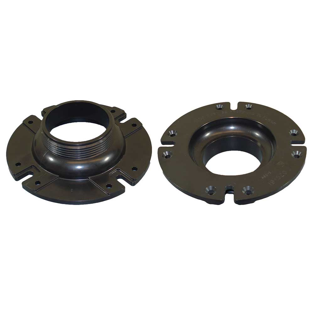 Holding tank fitting inch id od flange icon