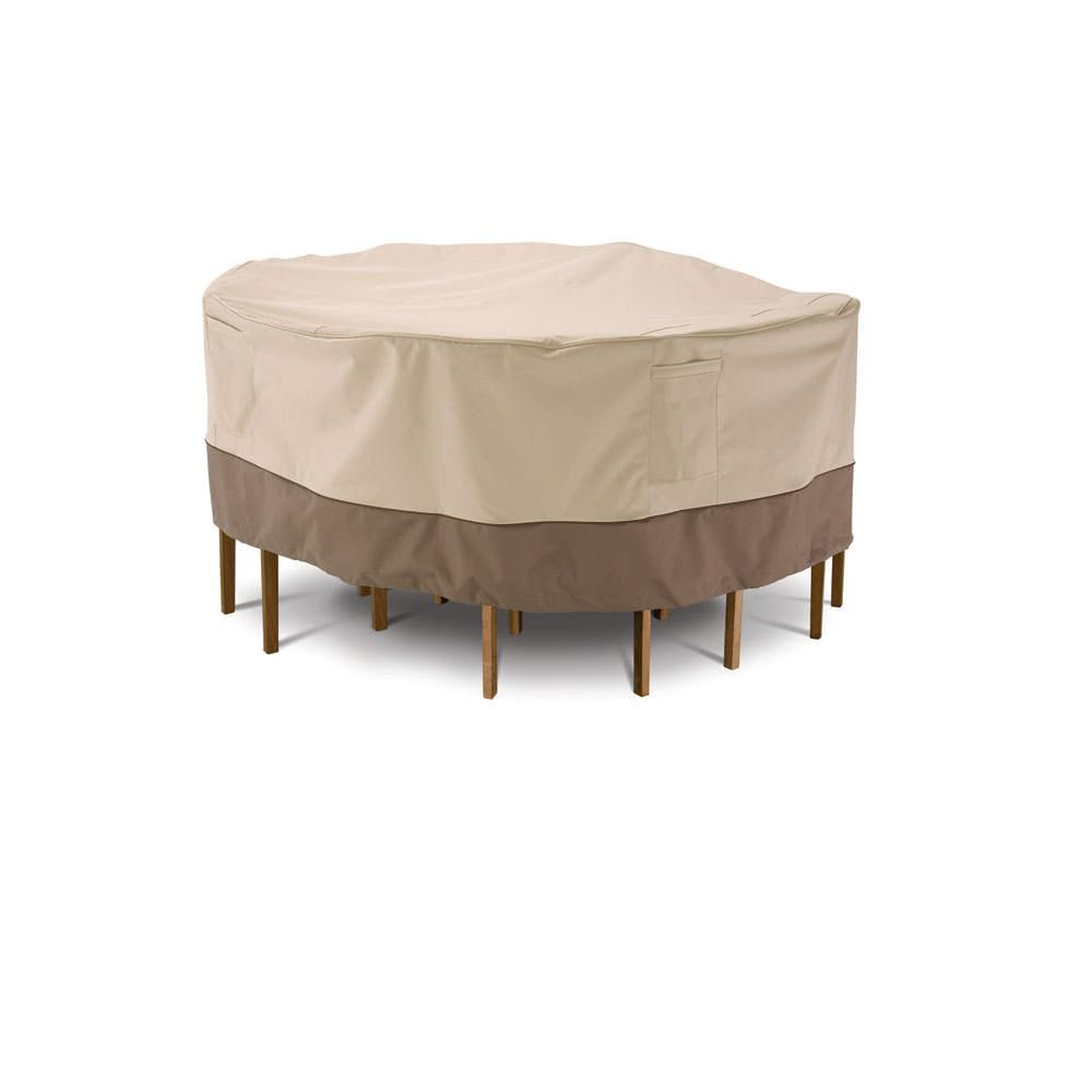 Veranda Collection Patio Furniture Covers Medium Round Table & Chair Cove