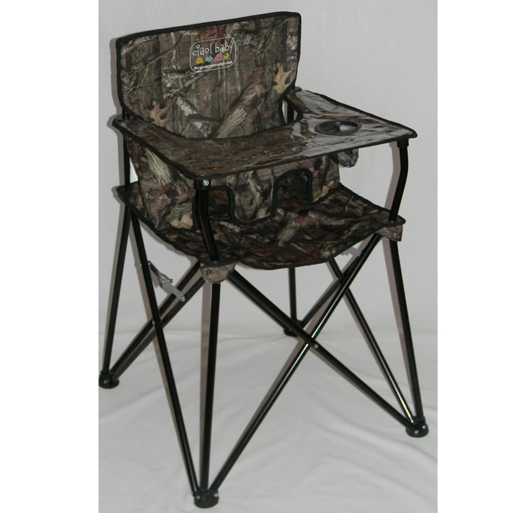 Baby Go Anywhere Highchair Camo Jamberly HB2001 Folding Chairs Camping