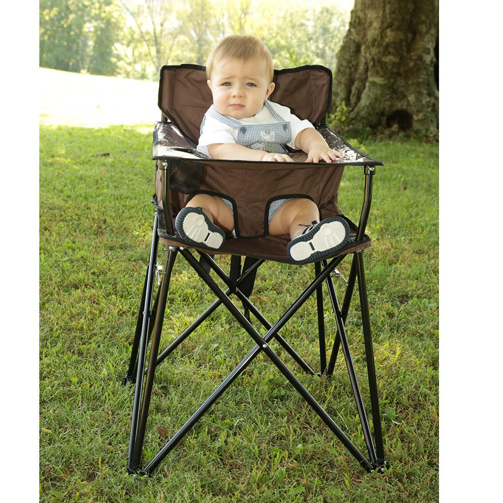 Marvelous ... Baby Go Anywhere Highchair, Brown ...