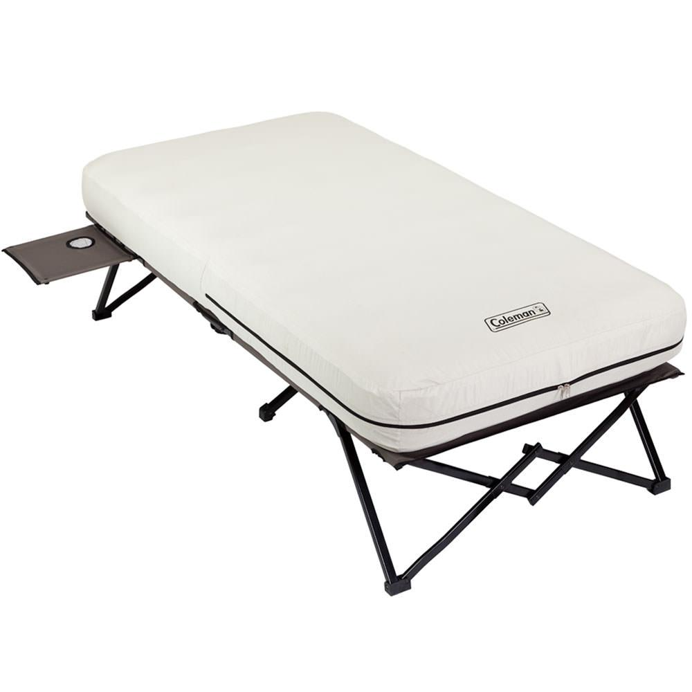 Twin Airbed Cot with Side Table Coleman