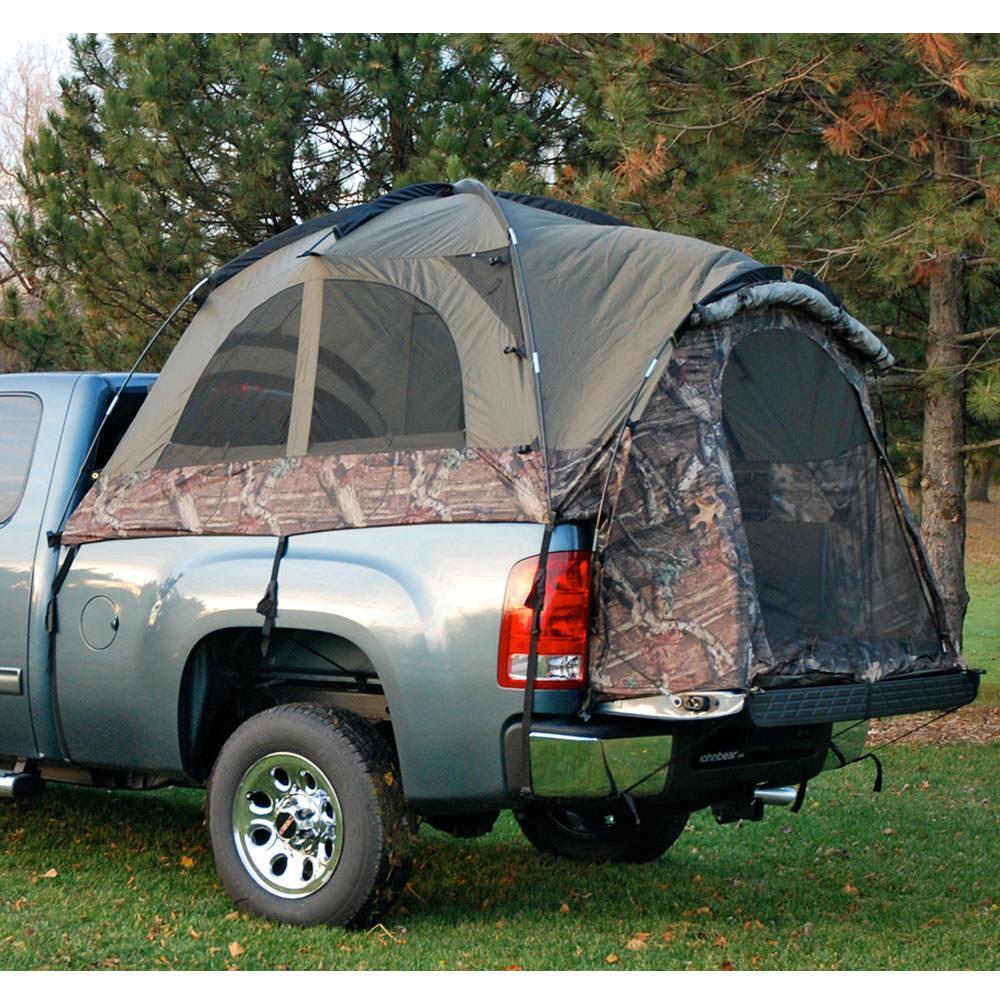 scroll previous image & Sportz Camo Truck Tent - Full Size Regular Bed 6.5u0027 - Napier ...