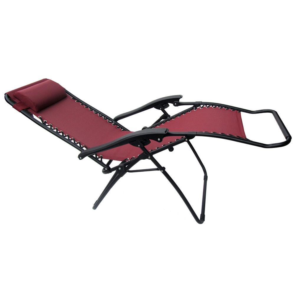 Anti gravity chair camp - Zero Gravity Recliner Burgundy