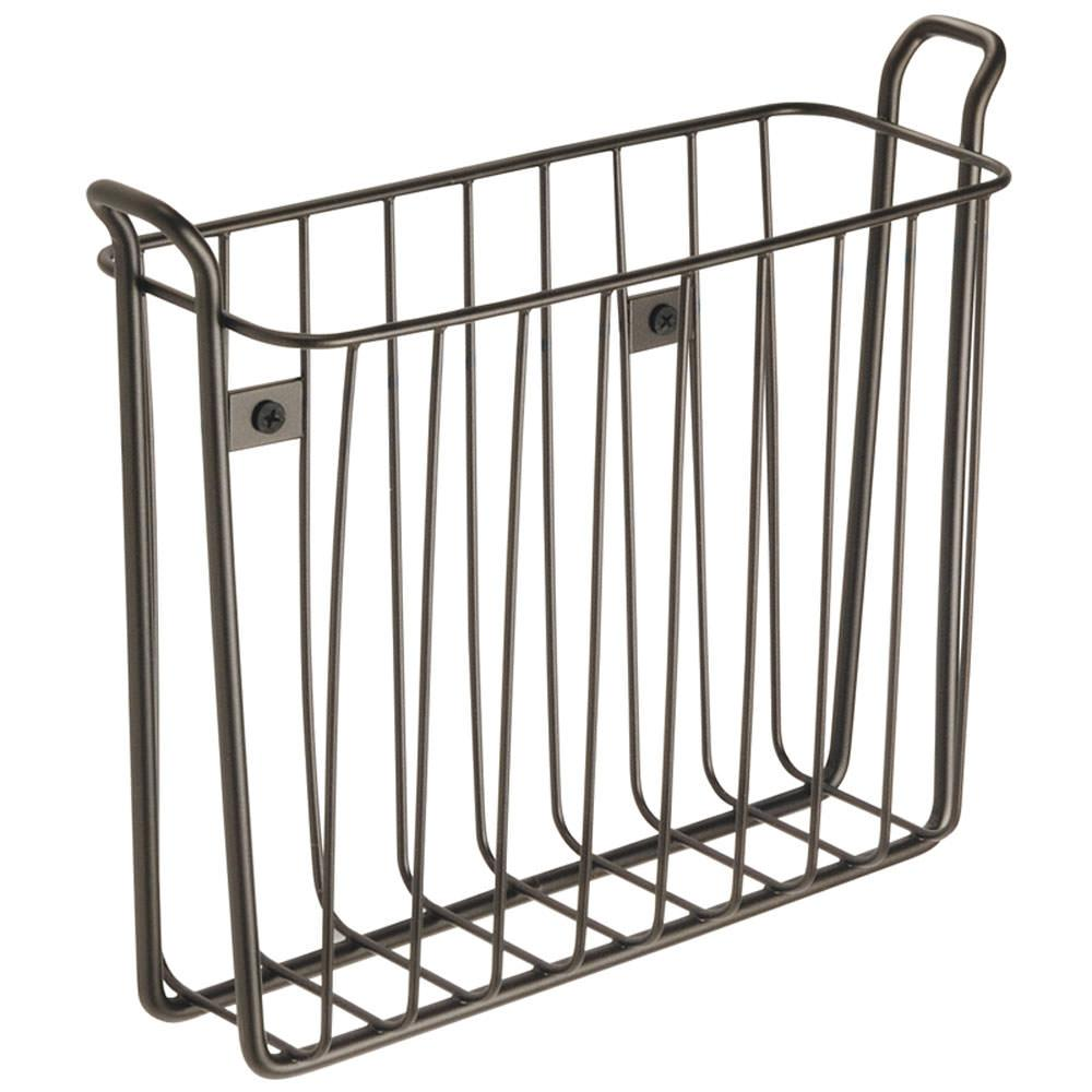 Classic WallMounted Magazine Rack Interdesign 68911 Racks