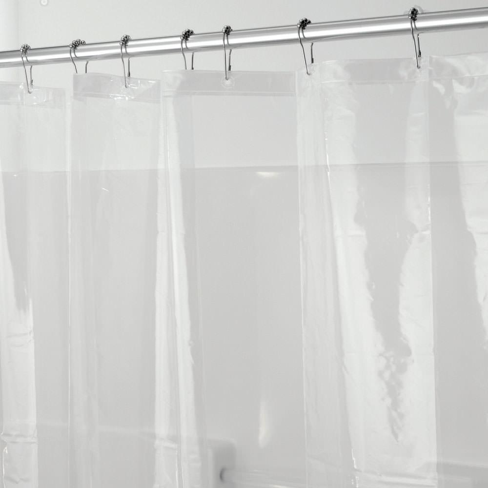 Clear Shower Stall Curtain Liner - Interdesign 12152 - Bathroom ...