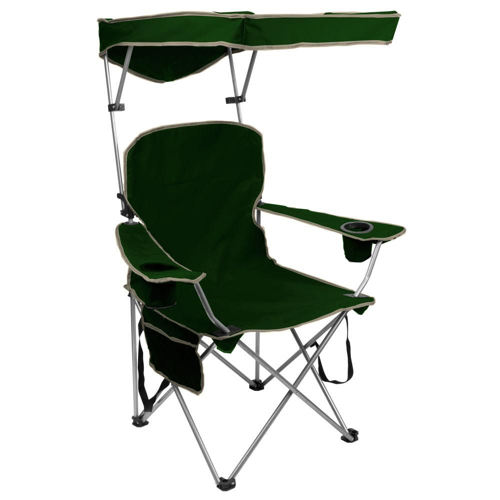 Quik Shade Chair Forest Green Bravo Sports Folding Chairs Camp