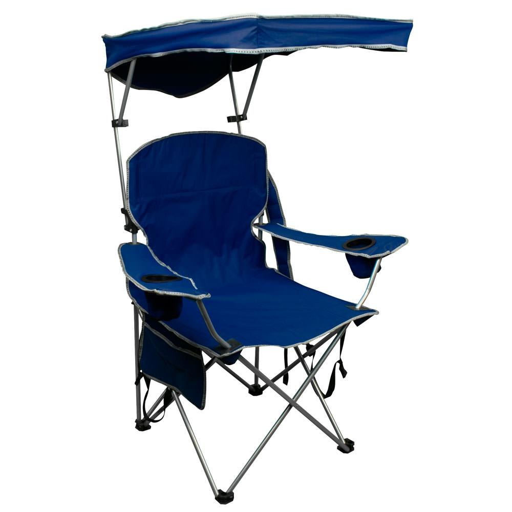 Quik Shade Chair Navy Blue Bravo Sports Folding Chairs Camping