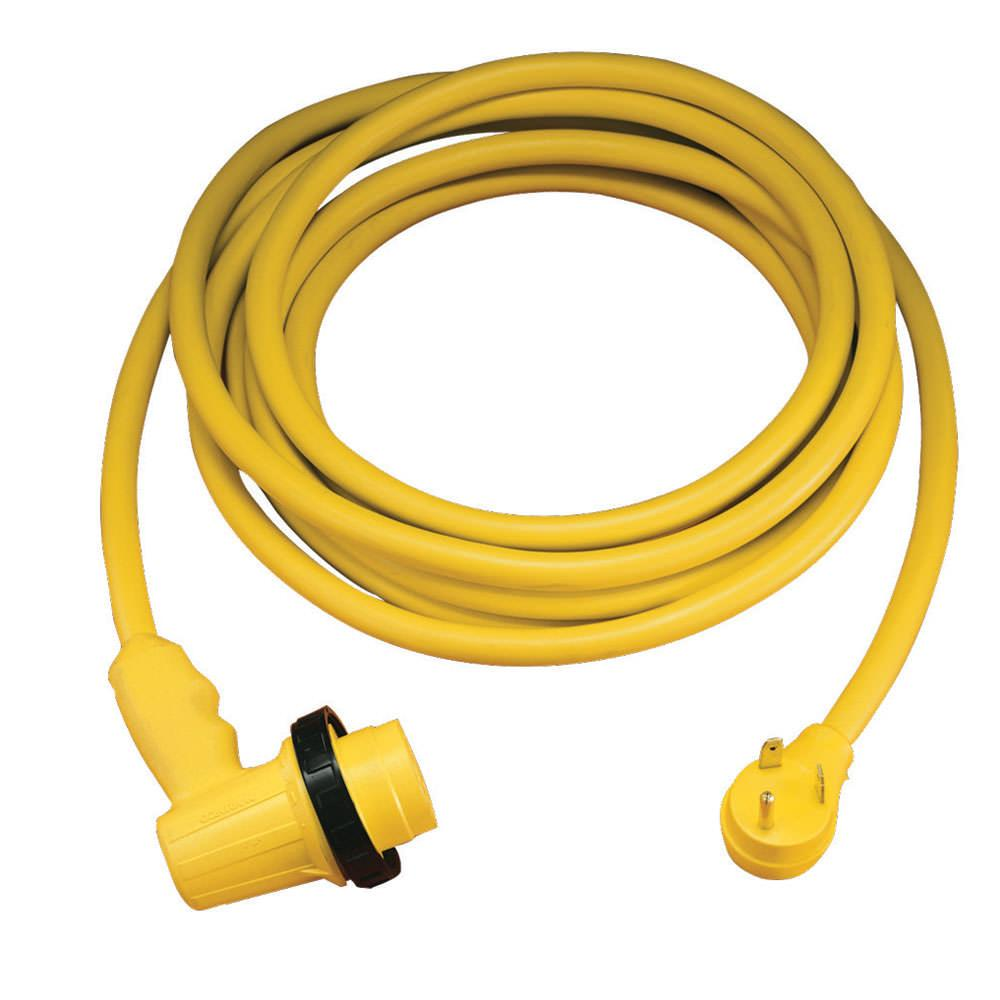 30 Amp Camper Cord : Amp right angle locking rv cordset power