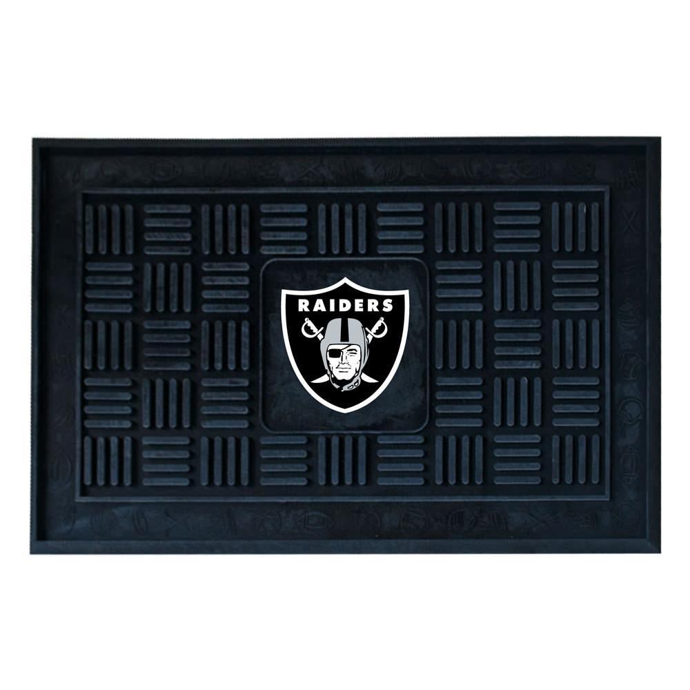 Fanmats Heavy Duty Door Mat 19 Quot X 30 Quot Oakland Raiders